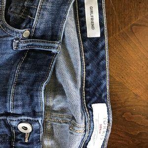 Torrid Sharkbite Girlfriend Jeans size 14S